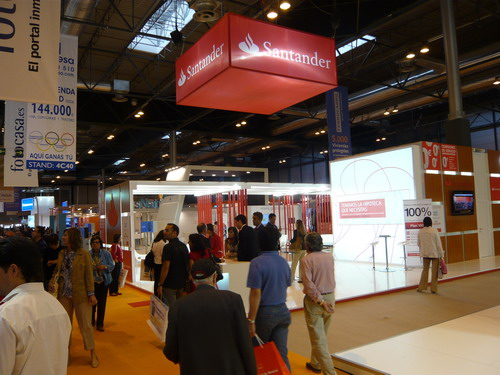 Banco Santander feria inmobiliaria sima madrid