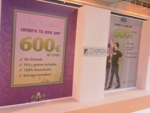 Por 600 euros al mes, un piso en Vallecas