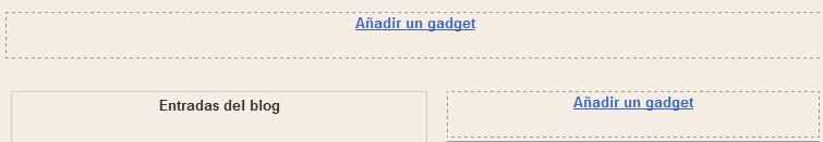 plantilla gadgets de blogger