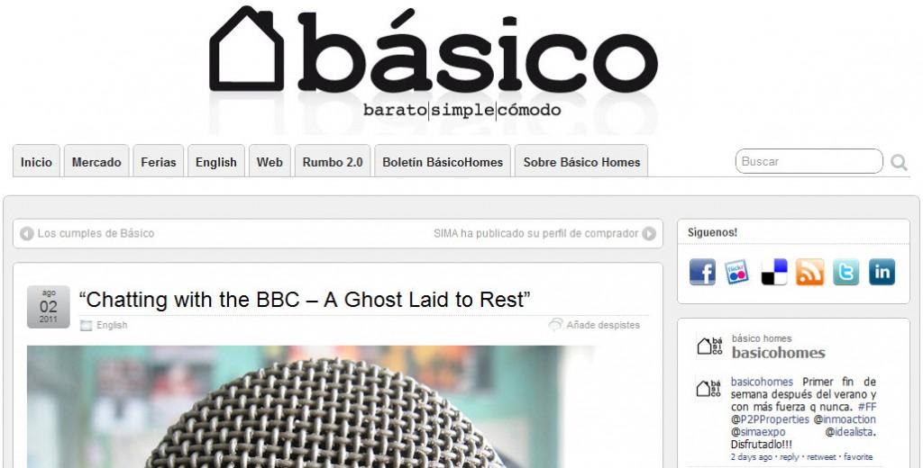 blog basico homes