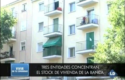 los pisos los tienen los bancos: bankia, santander, bbva