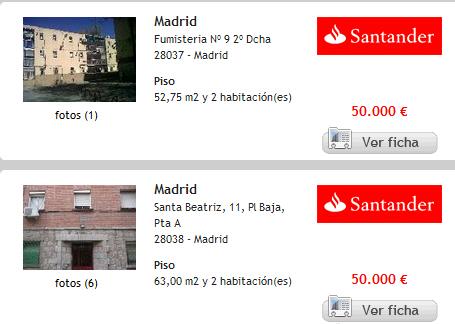 404 not found - Pisos en venta del banco santander ...