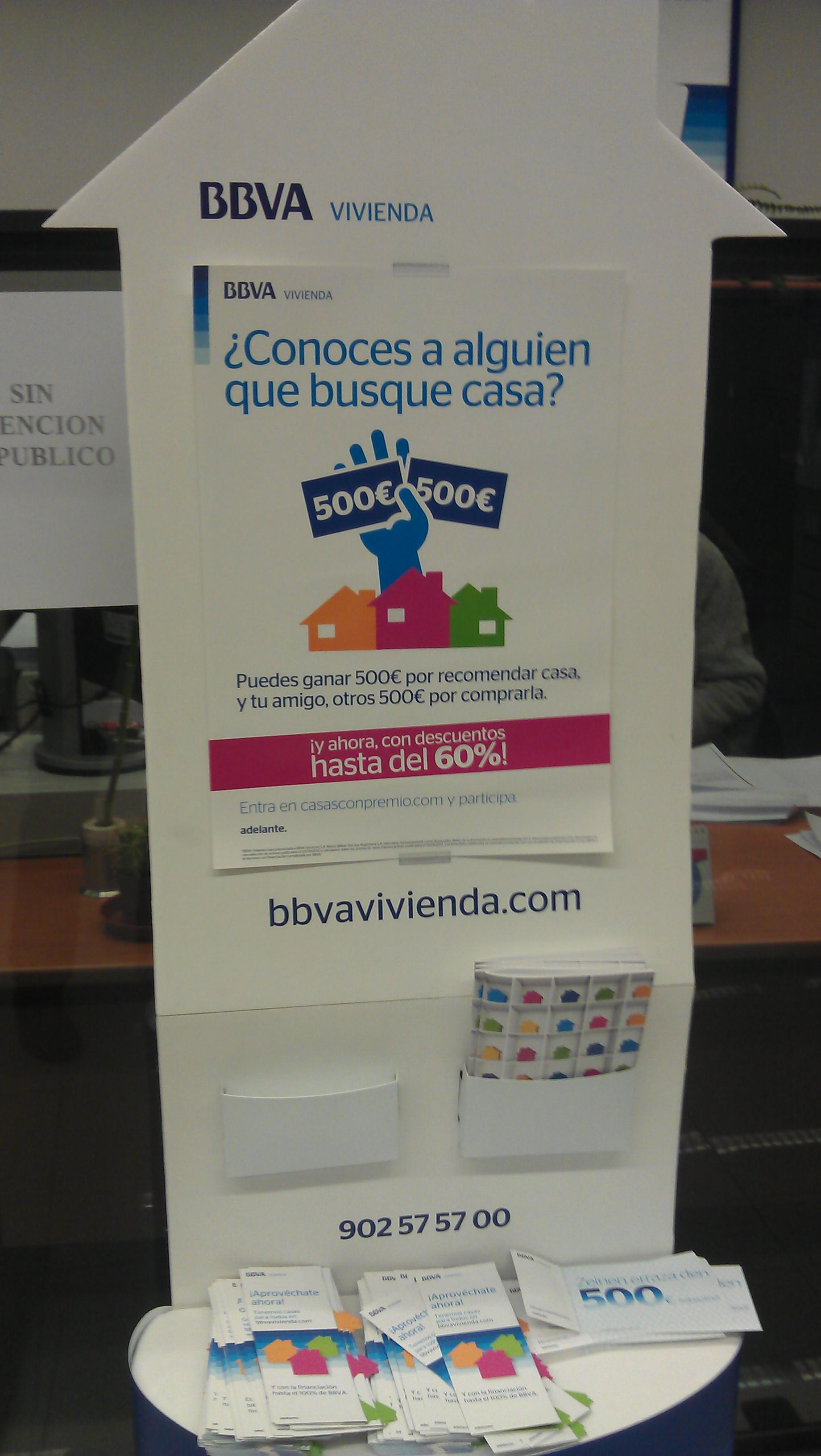 La vivienda el producto m s promocionado por los bancos for Inmobiliaria de bbva