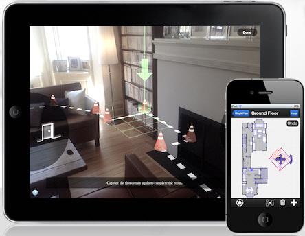 aplicaciones moviles para medir pisos y casas