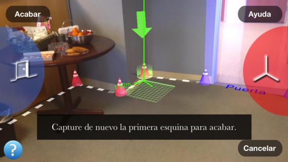 aplicación movil para medir interiores de viviendas