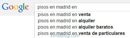 google sugerencias de busqueda