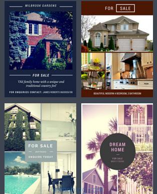 diseños inmobiliarios canva