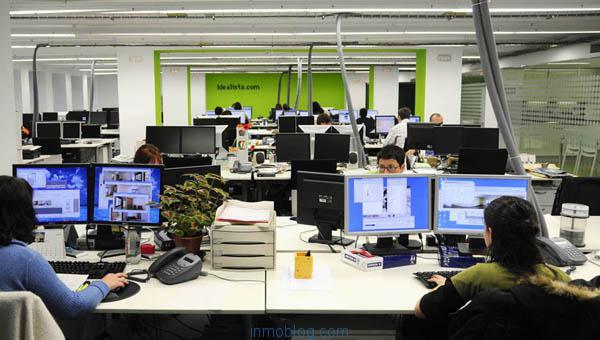 Los portales inmobiliarios reflejan la realidad de sus mercados agencia inmobiliaria - Idealista oficinas madrid ...