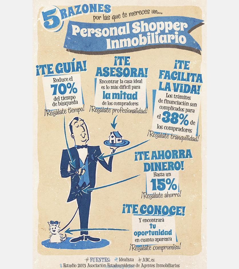 personal shopper inmobiliario