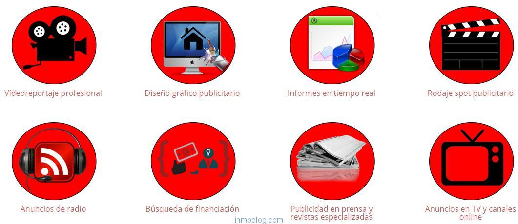 carta de servicios inmobiliarios