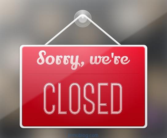 oficina online cerrada