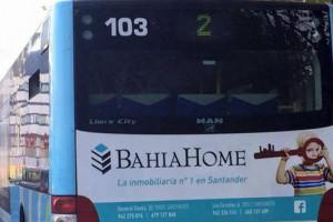 publicidad inmobiliaria en autobus