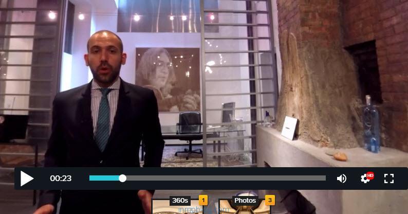 video interactivo corcoran