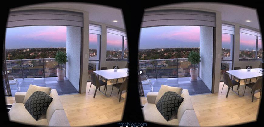 realidad virtual apartamento