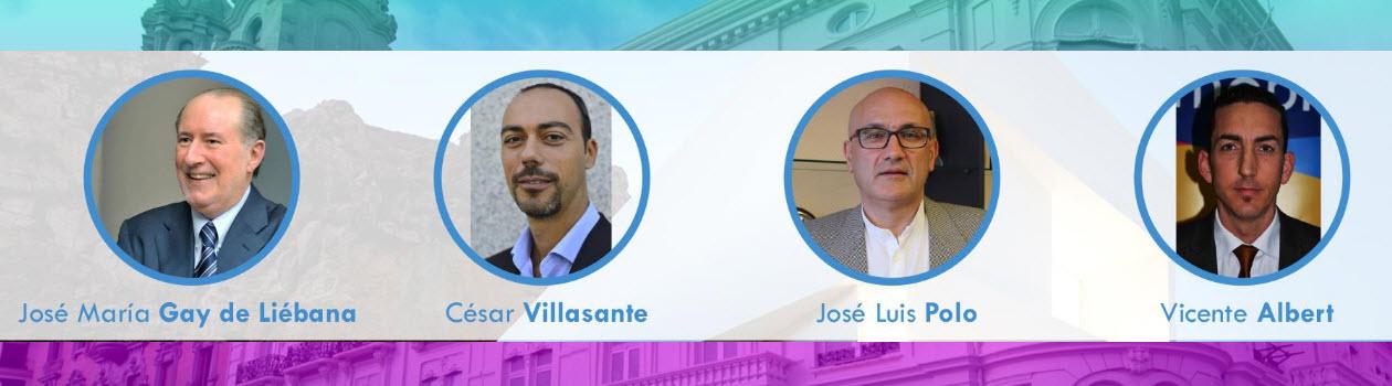 Ponentes en Profesionalinmo Valencia 2017