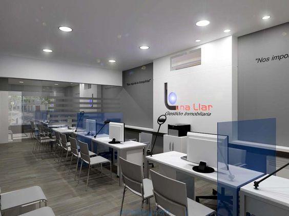 oficina agencia inmobiliaria