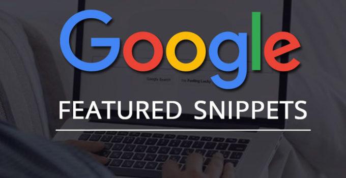 fragmento destacado google