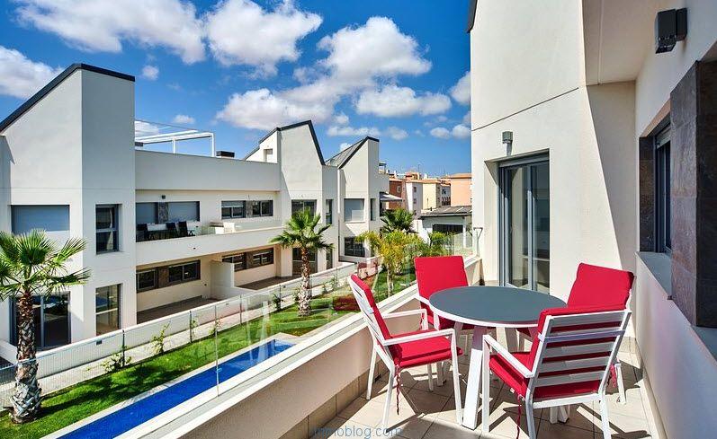 vivienda con terraza