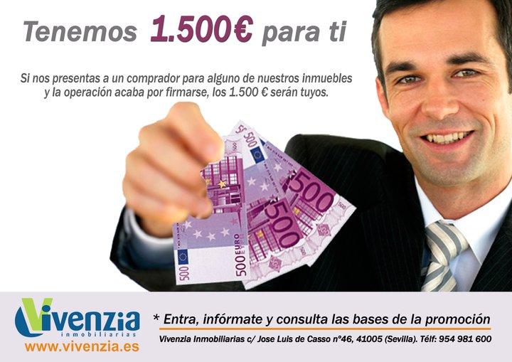 15000 euros para ti, campaña de vivenzia sevilla