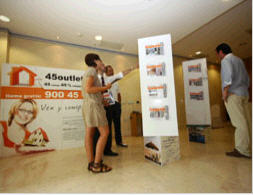 stand 45 outlet inmobiliario