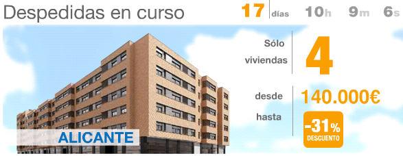 pisos en alicante con descuento 31% metrovacesa