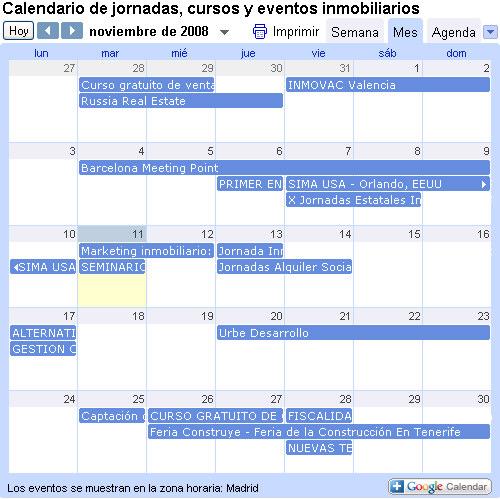 calendario de ferias inmobiliarias