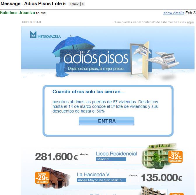 emailing adiospisos metrovacesa