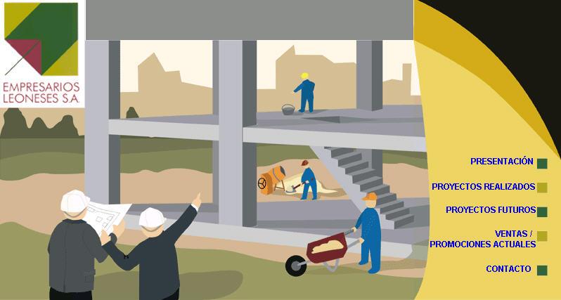 empresarios leoneses web inmobiliaria