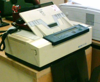 viejo fax planos