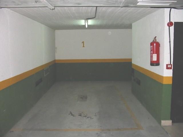 plaza de garaje en madrid