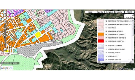 goolgis catastro registro pgou tecnologia inmobiliaria