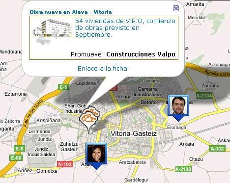 maps google latitud pisos