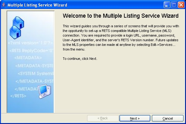 multiple listing service rets