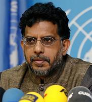 Relator Especial de Naciones Unidas Miloon Kothari