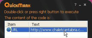 quickmark lector qr code