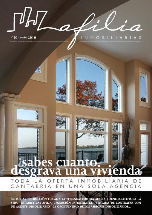 revista afilia inmobiliarias otoño 2010