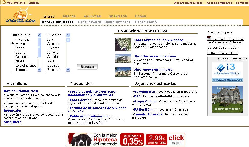 urbaniza.com año 2006