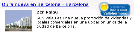 barcelona obra nueva