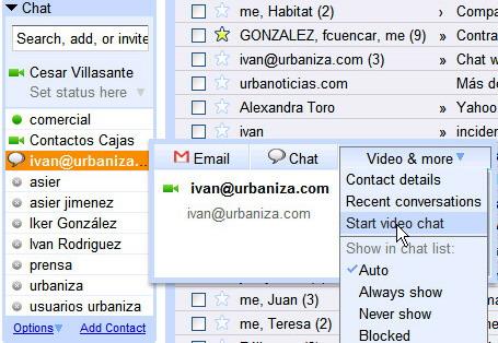VideoChat Google1