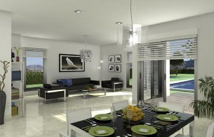 vivienda verde interior