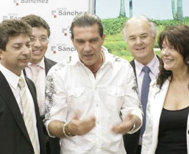 Antonio BanderasGrupo Sanchez SIMA