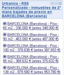 Rss piso bajan de precio en barcelona